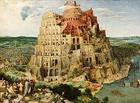 """""""La Tour de Babel"""", par Brueghel l'Ancien"""