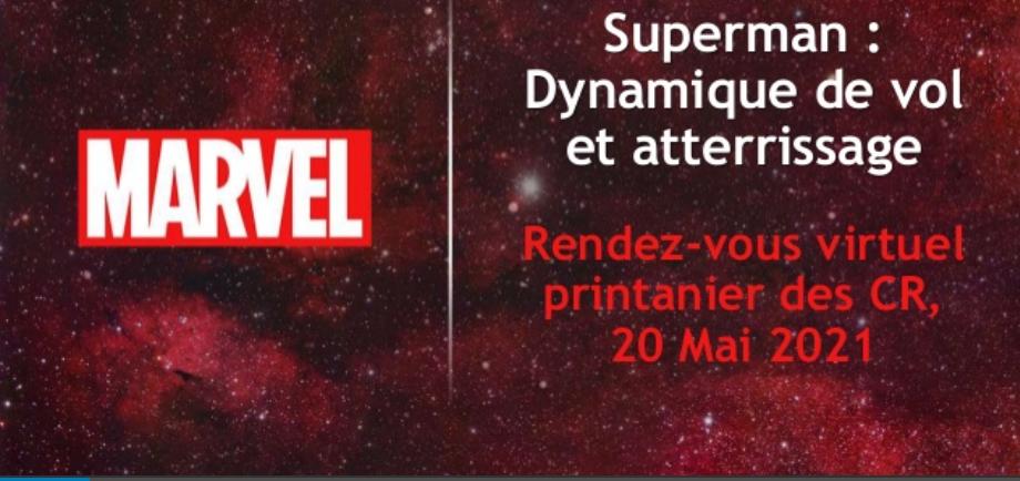 """Une du diaporama """"Superman : dynamique de vol et atterissage"""" ( rendez-vous du réseau Sudoc PS)"""
